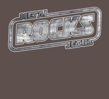 Metal Jesus Rocks - GUN METAL LOGO by metaljesusrocks
