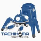 Tachikoma Blue by Adam Angold