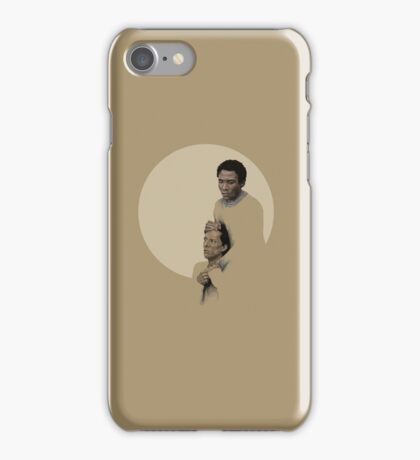 Troy and Abed being sad iPhone Case/Skin