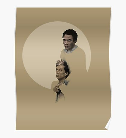 Troy and Abed being sad Poster