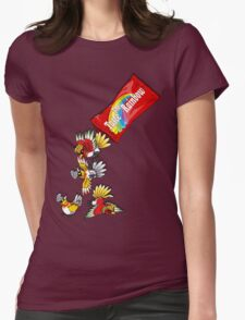 comes in shiny flavour Womens Fitted T-Shirt