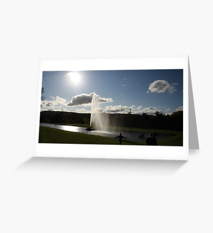 Chatsworth Fountain Greeting Card
