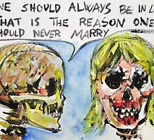 SKULLS QUOTING OSCAR WILDE - 5 by lautir