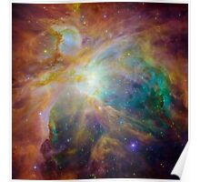 Orion Nebula, space, astronomy, science, astrophysics Poster