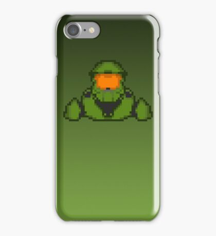 Master Chief Pixelated iPhone Case/Skin