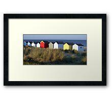 Southwold Beach Huts, Suffolk Framed Print