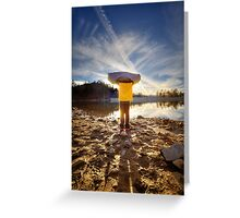 Son Reflector Greeting Card
