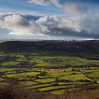 sugarloaf mountain in winter brecon beacons wales by blakmountphoto