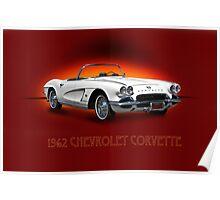 1962 Corvette w/ ID Poster