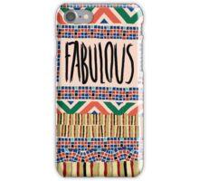 Fabulous A.K.A. Rug iPhone Case/Skin