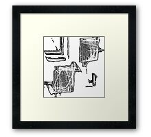 The Caged Bird #2 Framed Print