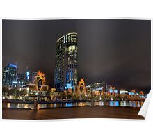 Crown Casino Flames Poster