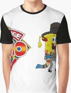 Sponge Who (Ver 2) Graphic T-Shirt