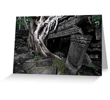 Entwined, Cambodia Greeting Card