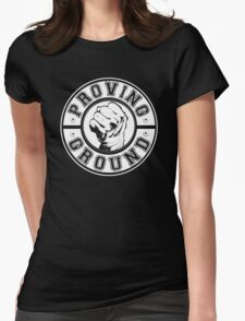 Proving Ground Logo Womens Fitted T-Shirt