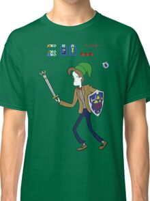 Ocarina of Timelord Classic T-Shirt