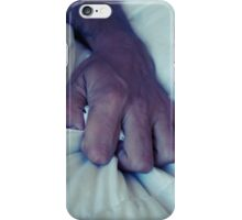 Grabbing The Sheets iPhone Case/Skin