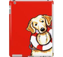 Golden Rescue iPad Case/Skin