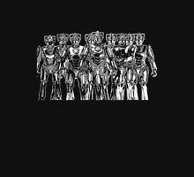 cybermen on black Unisex T-Shirt