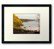 Evening On Lake Gartan Framed Print