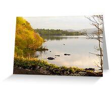 Evening On Lake Gartan Greeting Card