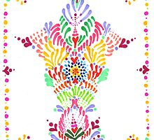Summer Totem Design by Molly Lombard