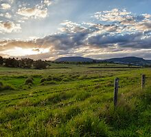 Boonah Sunset • Queensland by William Bullimore