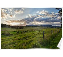 Boonah Sunset • Queensland Poster