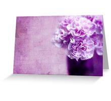 Purple Madness Greeting Card