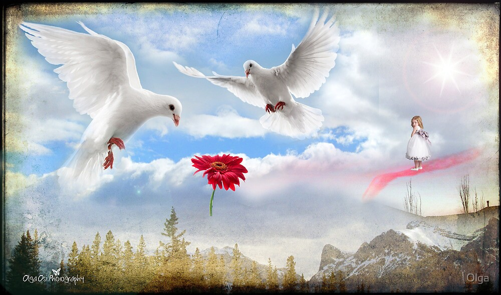 When she goes to Heaven... by Olga