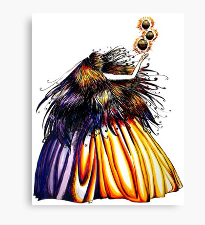 Lantern Princess Canvas Print