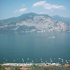 The Length Of Lake Garda by William Bovington