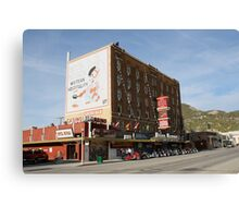 Hotel Nevada,Ely Nevada USA Canvas Print