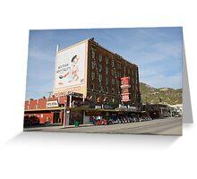 Hotel Nevada,Ely Nevada USA Greeting Card