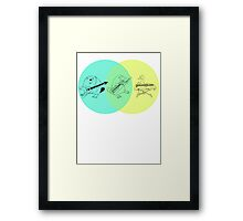 Biology at its Finest Framed Print