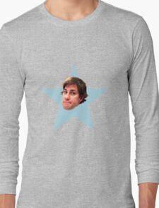 The Office Jim Star Long Sleeve T-Shirt