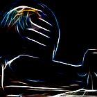 Helmet on Supercharger - Dark Glow by Doug Greenwald