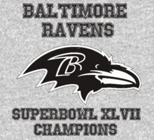 Superbowl 2013 Ravens by BennH