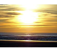 Quinault Beach Sunset  Photographic Print