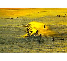 Bondi Gold Photographic Print