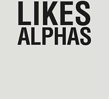 TEEN WOLF - LIKES ALPHAS Womens Fitted T-Shirt