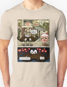 Mustache Loves Cupcake T-Shirt