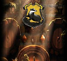 Hufflepuff Common Room by Serdd