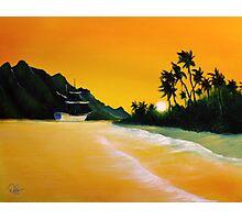 The yellow Sea Photographic Print