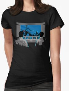 Groovy Puppeteers  Womens Fitted T-Shirt
