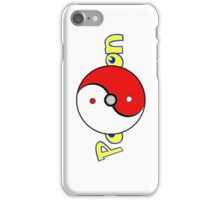 Poke Ball Yin and Yang Style 2 iPhone Case/Skin