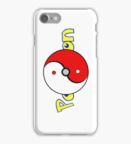 Poke Ball Yin and Yang Style 2 iPhone Case/Skin