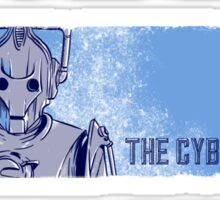 The Doctor, The Cyberman, and The Dalek Sticker