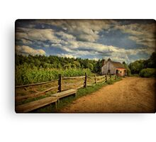 Picturesque Countryside  Canvas Print