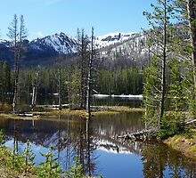 Sylvan Lake, Wyoming by Claudio Del Luongo